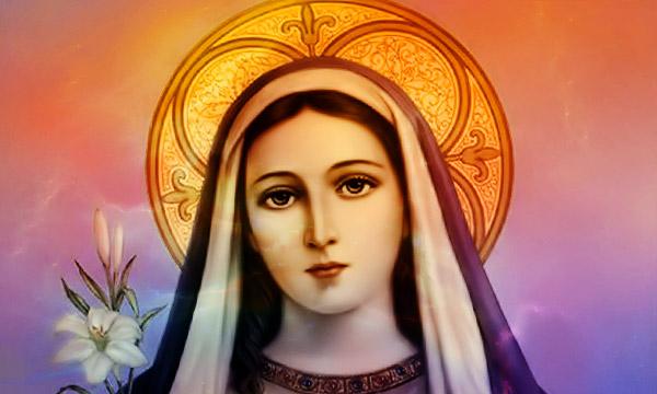 Богородице Дево радуйся, благодатная Марие Господь с тобою