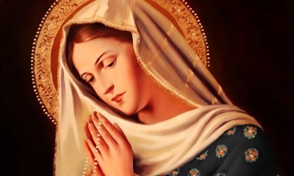 молитва богородице дево радуйся