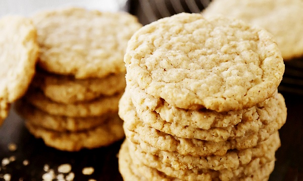 Печенье из овсянки быстрого приготовления с фото