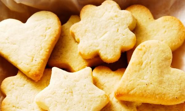 Быстрое песочное печенье простой рецепт с фото
