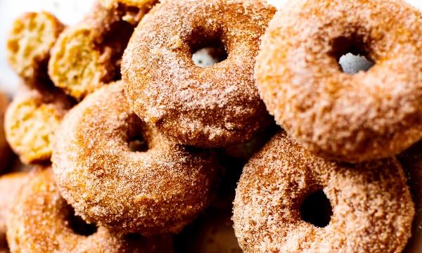Пончики в духовке рецепт с фото