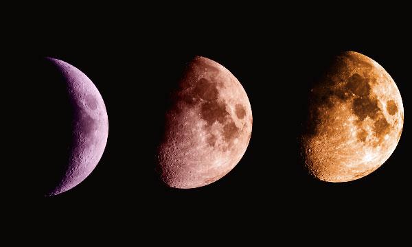 Когда растущая Луна 2021 года. Как выглядит молодая прибывающая Луна