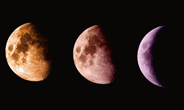Когда будет Убывающая луна в 2020 году