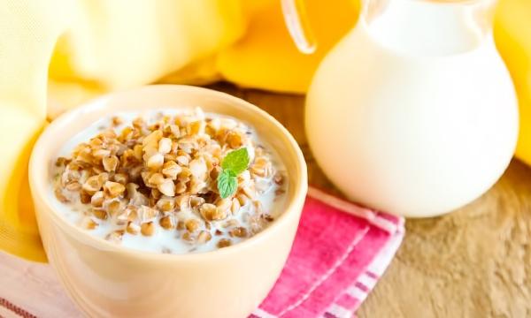 как похудеть на гречке с молоком