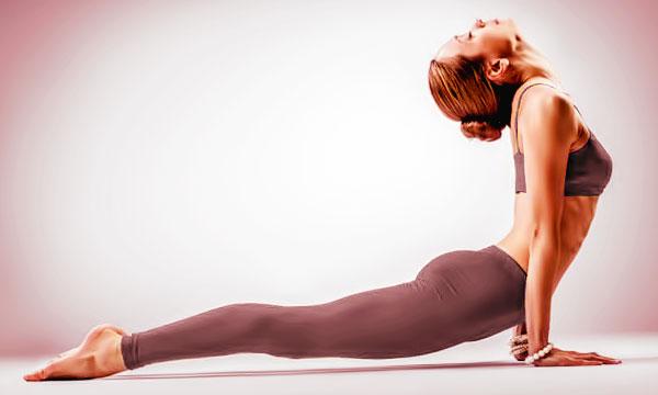 йога для похудения упражнения видео
