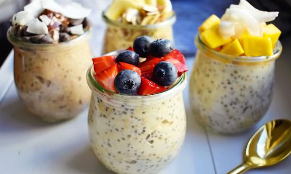 овсянка в банке здоровый и быстрый завтрак без готовки